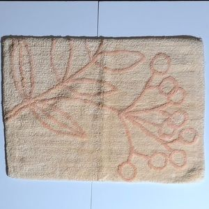 Other - New Peach  Bath Mat Size 28 X 20 Inches